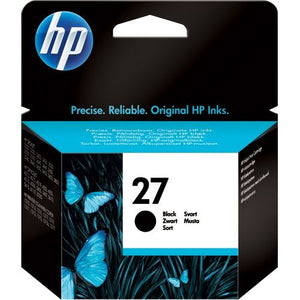 Genuine HP 27 Black Inkjet Print Cartridge (C8727AE)