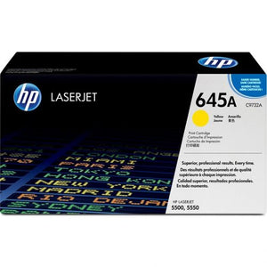 Genuine HP 645A Yellow LaserJet Toner Cartridge (C9732A)