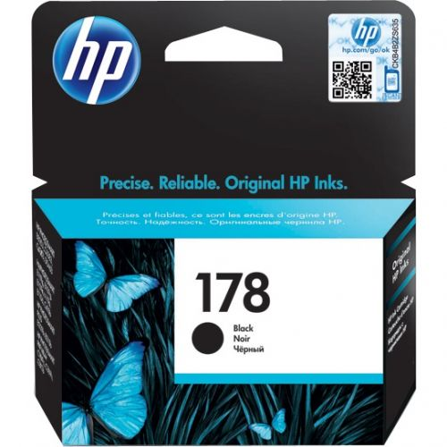 Genuine HP 178 Black Ink Cartridge (CB316HE)