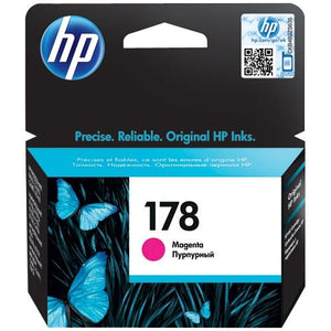 Genuine HP 178 Magenta Ink Cartridge (CB319HE)