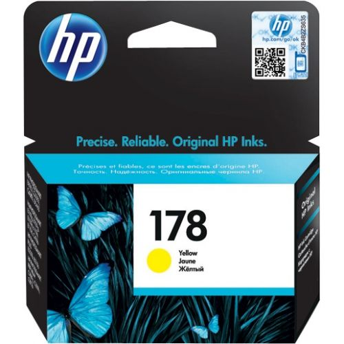 Genuine HP 178 Yellow Ink Cartridge (CB320HE)