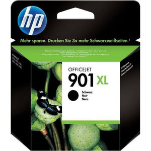 Genuine HP 901XL Black OfficeJet Ink Cartridge (CC654AE)