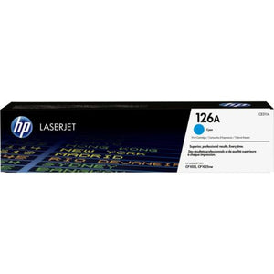 Genuine HP 126A Cyan LaserJet Toner Cartridge (CE311A) SKU CE311A