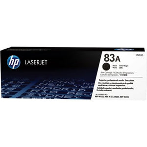 Genuine HP 83A Black LaserJet Toner Cartridge (CF283A)
