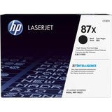 Genuine HP 87X High Yield Black LaserJet Toner Cartridge (CF287X)