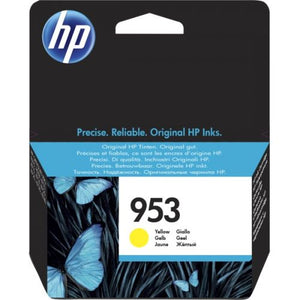 Genuine HP 953 Yellow Ink Cartridge (F6U14AE