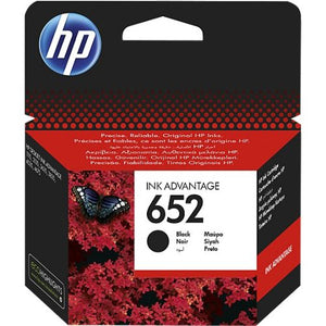 Genuine HP 652 Black Ink Cartridge (F6V25AE)