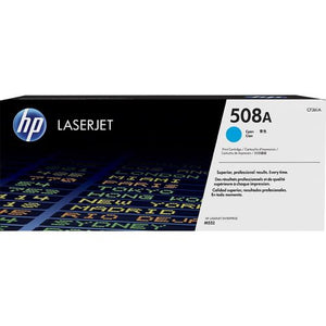 Genuine HP 508A Cyan LaserJet Toner Cartridge (CF361A)