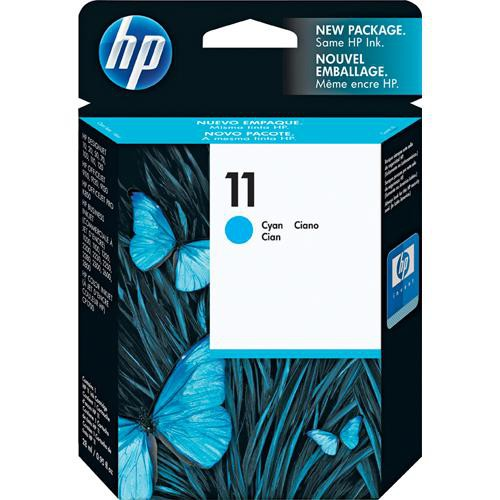 Genuine HP 11 Cyan Original Ink Cartridge (C4836A)