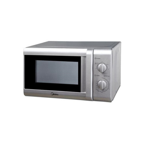 Midea 20L Manual 700W Microwave Oven - Silver (MM720CTB-S)