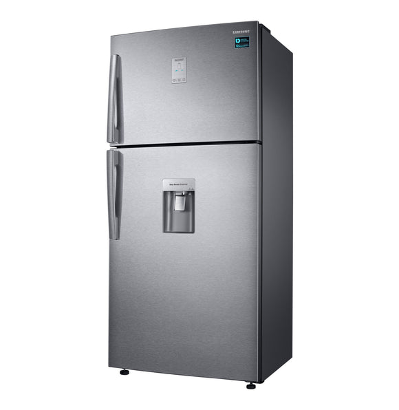 SAMSUNG 514 l Top Freezer Fridge with Water Dispenser Aluminium steel (RT50K6531SL)
