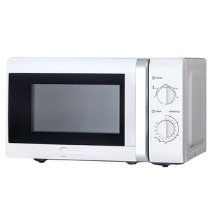 Midea 20L Manual 700W Microwave Oven - White (MM720CTB-W)