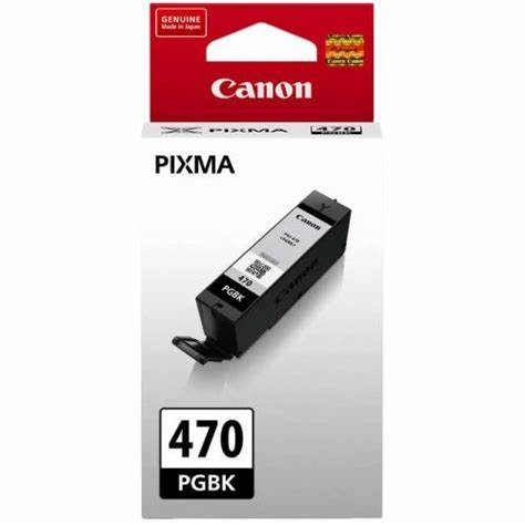 Genuine Canon PGI-470 Black Ink Cartridges
