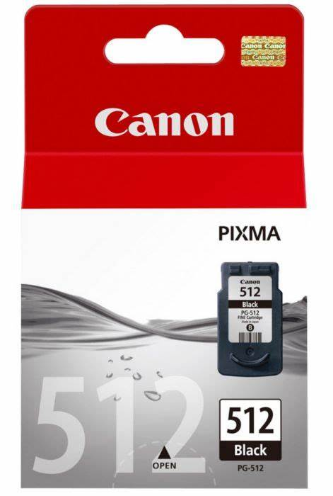 Genuine Canon PG-512 High Capacity Black Ink Cartridge