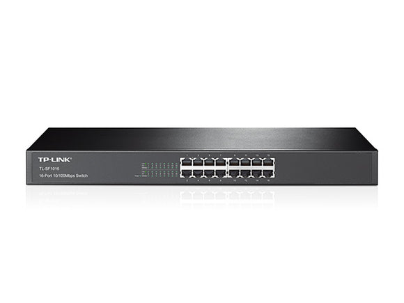 TP-Link 16-Port 10/100Mbps Rackmount Switch (TL-SF1016)
