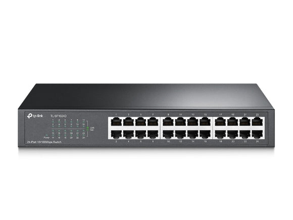 TP-Link 24-port 10/100Mbps Desktop/Rackmount Switch (TL-SF1024D)