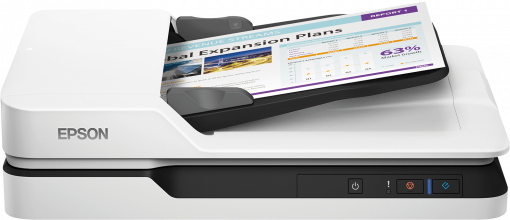 Epson WorkForce DS-1630 Affordable flatbed scanner (B11B239402)