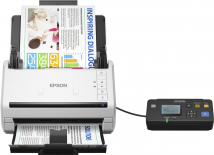 Epson WorkForce DS-530N Innovative business scanner (B11B226401BC)