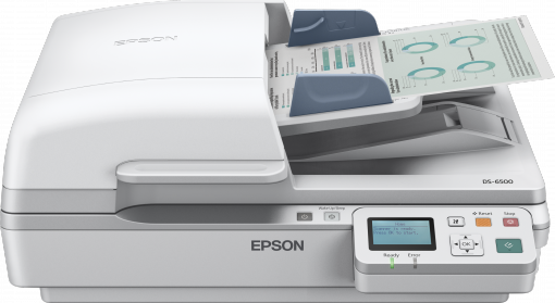 Epson WorkForce DS-7500N High Speed A4 networked scanner (B11B205331BT)