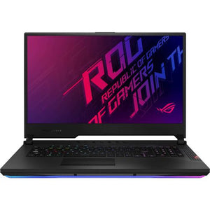 "ASUS ROG Strix Scar 17 Gaming Notebook PC - Core i7-10875H / 17.3"" FHD 144Hz / 16GB RAM / 1TB SSD / RTX 2070 8GB / Win 10 Home (G732LW-I71610T)"
