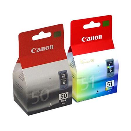 Genuine Canon PG-50 & CL-51 Ink Tank Cartridge