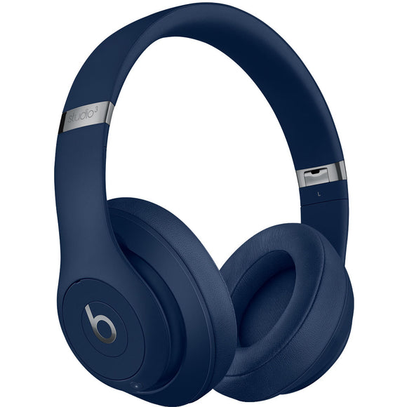 Beats by Dr. Dre Studio3 Wireless Bluetooth Headphones (Blue) MQCY2