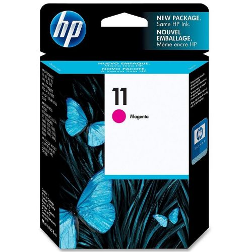 Genuine HP 11 Magenta Ink Cartridge (C4837A)
