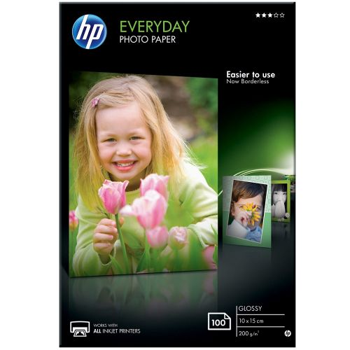 HP Everyday Glossy Photo Paper 100-sheet 10 x 15 cm (CR757A)