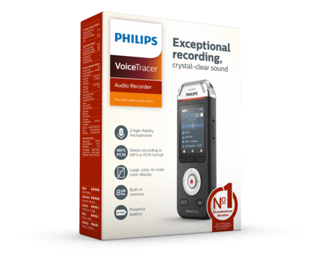 Philips VoiceTracer Audi Recorder (DVT 2110)