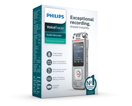 Philips VoiceTracer Audio recorder (DVT 4110)