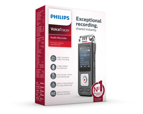 Philips VoiceTracer Audio recorder (DVT 6110)