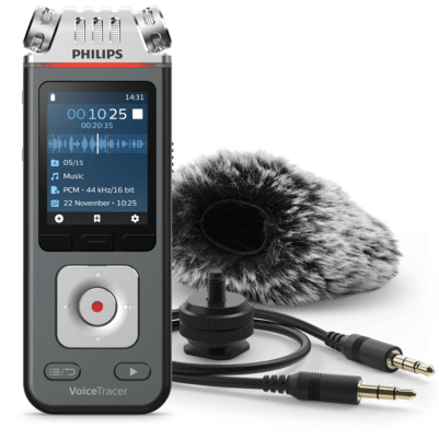 Philips VoiceTracer Audio recorder (DVT 7110)