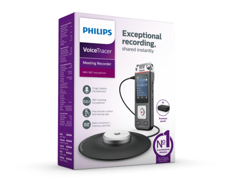 Philips VoiceTracer Audio recorder (DVT 8110)