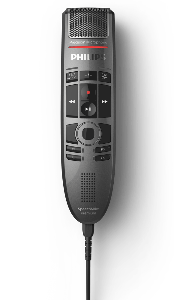 Philips SpeechMike Premium Touch Dictation Microphone (LFH 3700)