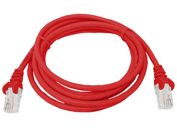 UTP Cat5e 2 Meter Patch Cable Red (FLY-2R)