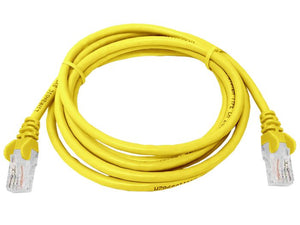 UTP Cat5e 2 Meter Patch Cable  Yellow (FLY-2Y)