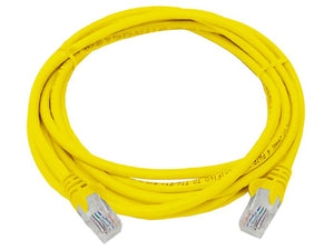 UTP Cat5e 3 Meter Patch Cable  Yellow (FLY-3Y)