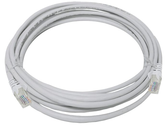 UTP Cat5e 5 Meter Patch Cable  Grey (FLY-5)