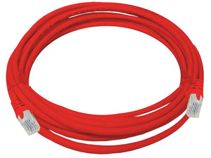 UTP Cat5e 5 Meter Patch Cable  Red (FLY-5R)