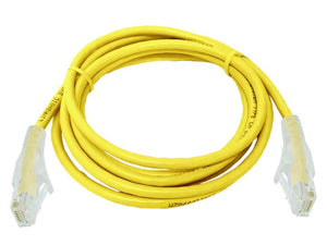 UTP Cat6 2 Meter Patch Cable  Yellow (FLY-6-2Y)