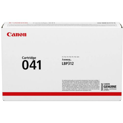 Genuine Canon 041 Black Laser Toner Cartridge