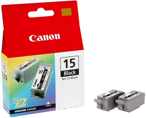 Genuine Canon BCI-15 Ink Tank Cartridges