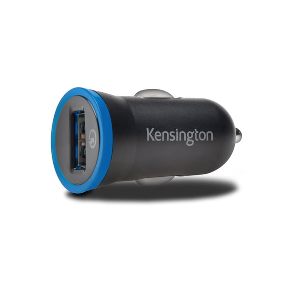 Kensington PowerBolt™ 2.4 Car Charger with QuickCharge™ 2.0