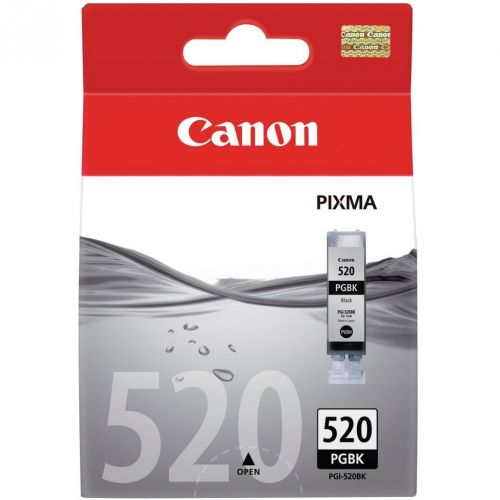 Genuine Canon PGI-520 Black Ink Cartridge