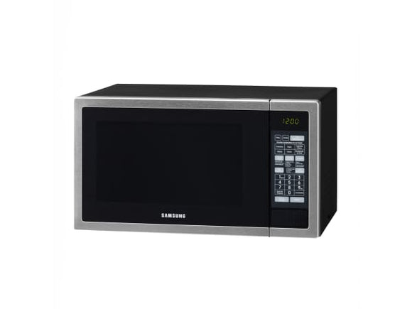 SAMSUNG 40L Grill Microwave - Stainless Steel With Black Door (GE614ST)