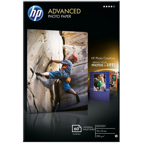 HP Advanced Glossy Photo Paper 60-sheet 10 x 15 cm borderless (Q8008A)