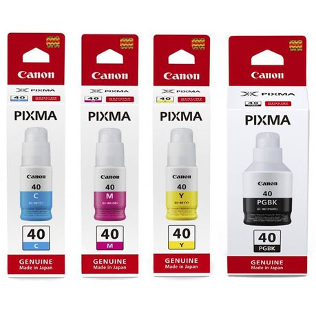 Genuine Canon GI-40 Ink Bottle