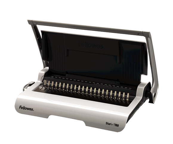 Fellowes Star + 150 Comb Binding Machine (5627501)