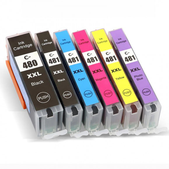 Genuine Canon CLI-481 Ink Cartridges