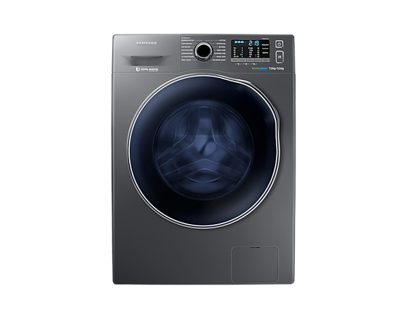 Samsung Washer Dryer with ecobubble™, 7/5kg (WD70J5410AX)
